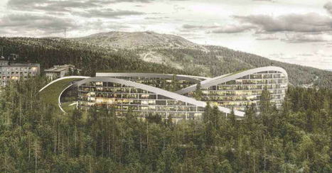 Finlande, Koutalaki Ski Village par Big | Architecture et montagne | Scoop.it