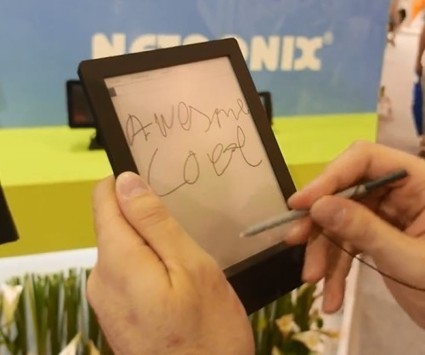 "Netronix Shows Off a 6.8"" eReader Prototype With Wacom, Android 4.1 (video) 