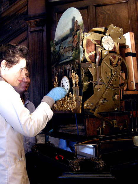 George Pyke's Musical Clock « The Automata Cabinet | Heron | Scoop.it