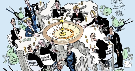 EuroZone Profiteers: How German and French Banks Helped Bankrupt Greece | THE  SPOT | Scoop.it