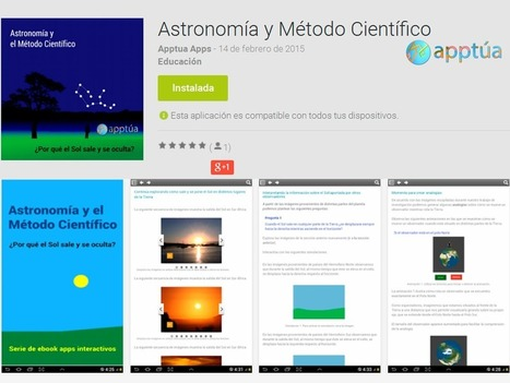 Nueva App: Astronomía y Método científico | | Edu-Recursos 2.0 | Scoop.it