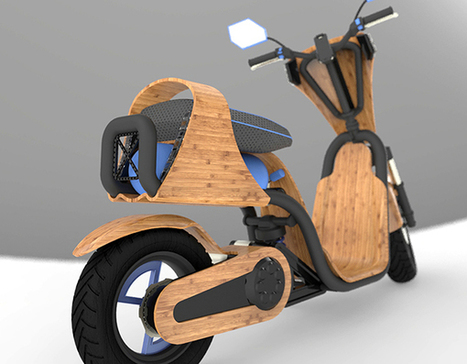 EcoMoto - Air Powered Scooter by Darby Bicheno » Yanko Design | Le flux d'Infogreen.lu | Scoop.it