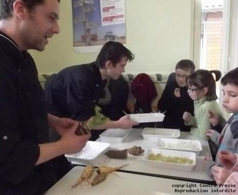 Les écoliers découvrent les légumes oubliés - Centre Presse   cuisine du 3 me millénaire   Scoop.it