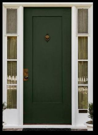 Painting the Front Door | Traditional Interior Design | Scoop.it