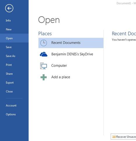 Personnaliser l'arrière plan d'Office 2013 | Time to Learn | Scoop.it