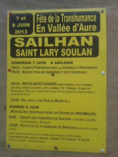 Fête de la Transhumance à Sailhan les 7 et 8 juin   gjh   Scoop.it