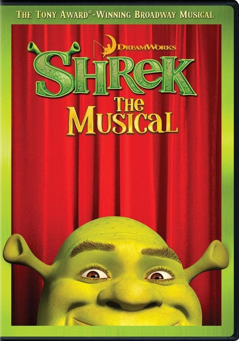 Shrek the Broadway Musical - Filmed Live on Stage DVD | Broadway & other NYC theater | Scoop.it