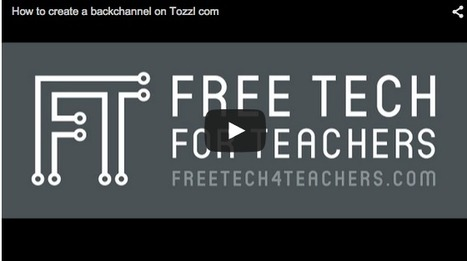 Practical Ed Tech Tip of the Week - Create a Multifaceted Backchannel on Tozzl ~ by Richard Byrne | Into the Driver's Seat | Scoop.it
