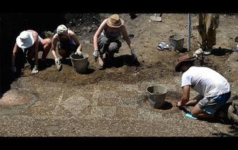 Un mosaico de un baño militar romano sacado a la luz en unas excavaciones en Georgia | LVDVS CHIRONIS 3.0 | Scoop.it