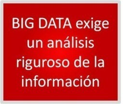 El Big Data o el verdero valor de la información | I+D+I 1º | Scoop.it