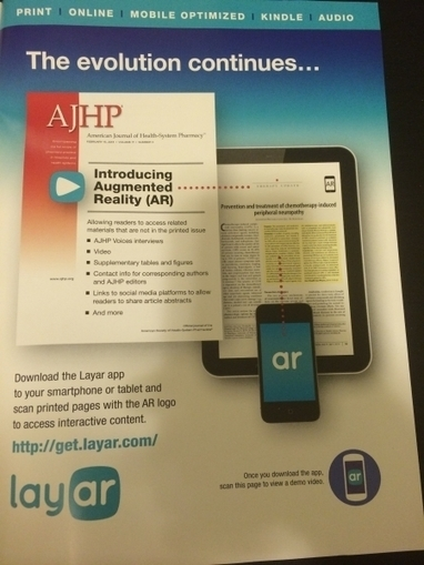 Print academic journals are using Augmented Reality to transform reading - iMedicalApps | Salud Publica | Scoop.it
