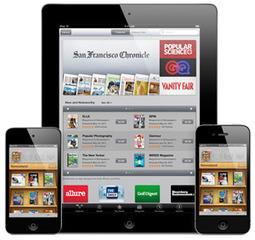 Le buzz de la semaine : lisez vous la presse papier sur une tablette tactile ? | Digital Freedom | Scoop.it