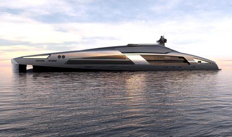 India Art n Design Global Hop : Superyacht: Aerodynamic Indulgence!   India Art n Design - Design   Scoop.it