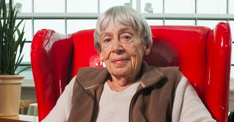 Ursula Le Guin, novelist, short story writer, essayist, activist and feminist, will become one of the few living writers recognized by the Library of America, and she did it on her terms | Fabulous Feminism | Scoop.it
