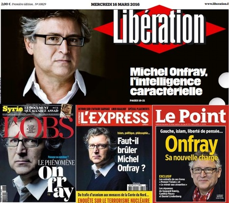 Michel Onfray va lancer sa web TV | DocPresseESJ | Scoop.it