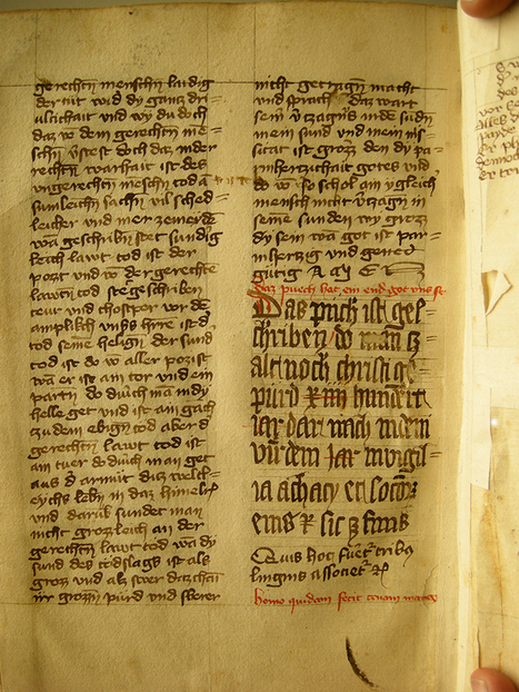 Virtual Exhibition: Every Codex tells a Story | The Dynamics of the Medieval Manuscript | Expo virtuelle | Scoop.it