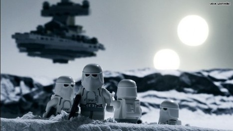 Iconic 'Star Wars' scenes re-created with Legos! | Emotional triggers | Scoop.it