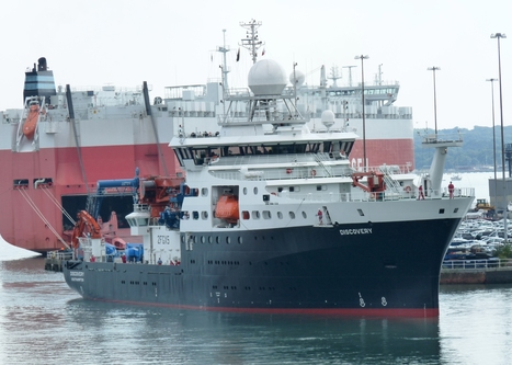 Maritime Journal - New NERC research vessel named | Science, research and innovation news | Scoop.it