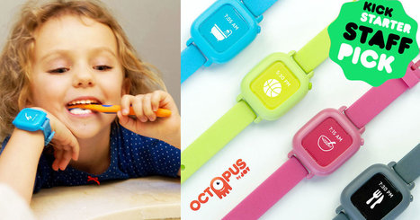 Octopus, the first icon-based watch™ that teaches kids good habits & the concept of time. JOY FamilyTech | I'm Bringing Techy Back | Scoop.it