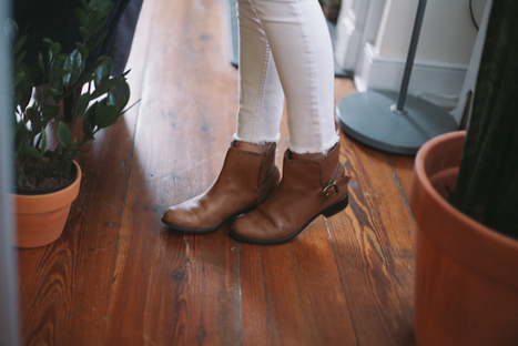 if you're having any trouble wearing ankle boot with jeans, here's a ... | Fall Fashions 2013 | Scoop.it