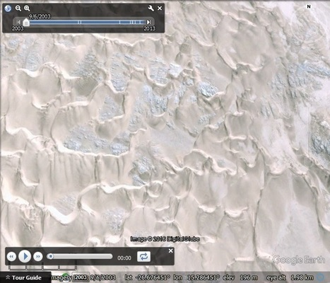 Watching sand dunes move with Google Earth - Google Earth Blog | De Natura Rerum | Scoop.it