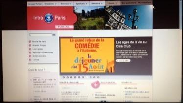 Blog d'Anthony Poncier » Blog Archive » Retour d'expérience sur l'intranet collaboratif de la ville de Paris | collaboratif | Scoop.it
