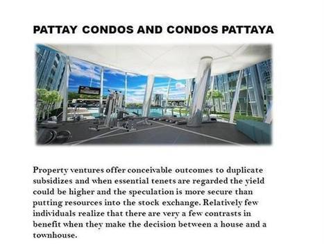 Pattaya Condos, Condo Pattaya, Condos in Pattaya Ppt Presentation | Condos In Pattaya | Scoop.it