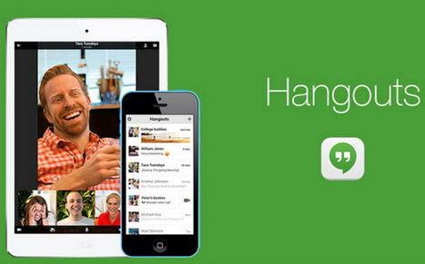Google Hangouts ahora permite unirse a un grupo vía enlace - Geek's RooM | Bits on | Scoop.it