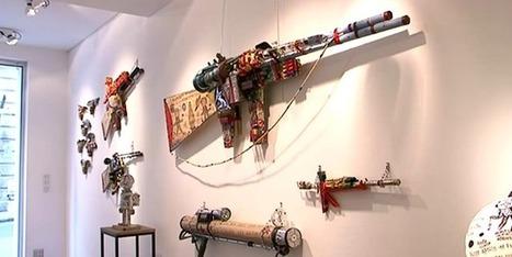 """André Robillard, figure de l'art brut, crée des armes pour """"tuer la ... - Francetv info   Art brut   Scoop.it"""