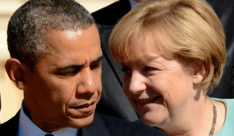 Le portable d'Angela Merkel espionné par les Etats-Unis ? | Cours particuliers de français à domicile | Scoop.it