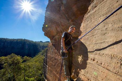 Safer Abseiling Instruction | UNSW Outdoors Club | Belay Stations | Scoop.it