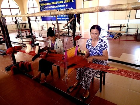 The history of weaving part 1- Asia - Wild Tussah   Indigenous Culture, Our Roots   Scoop.it