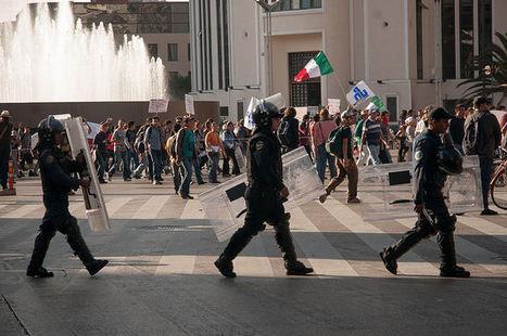 Protesta en México por incidentes en la marcha contra la imposición de Peña Nieto como presidente | Derechos Humanos | Scoop.it