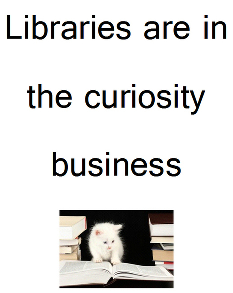 ArchivesInfo: Creativity in the Library | New Librarianship | Scoop.it
