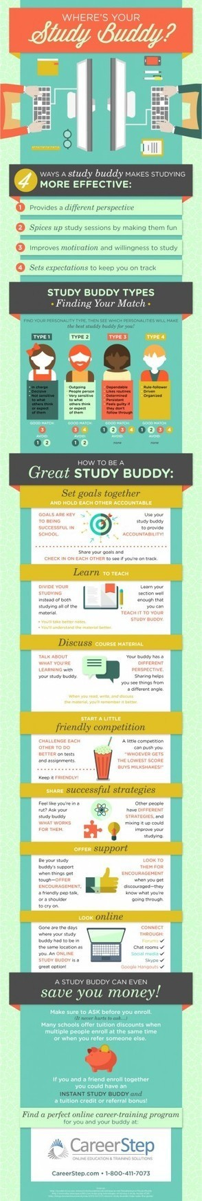 The Study Buddy Infographic | Leadership, Innovation, and Creativity | Scoop.it