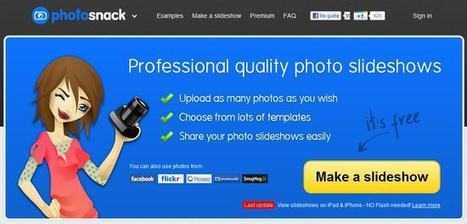 3 aplicaciones gratis en línea para crear slideshows de muy buena calidad | GeeksRoom | my tecno & xarxa socials | Scoop.it
