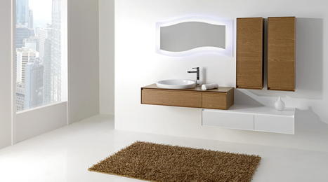 #madeinmarche: Mobiltesino, bathroom furnishings, Ripatransone | Home living Spaces - Kitchen - Bathroom - Living | Scoop.it