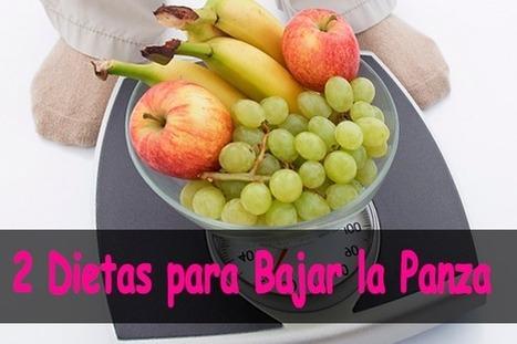 2 Dietas para bajar la panza | Bajar de Peso Rapido | Scoop.it