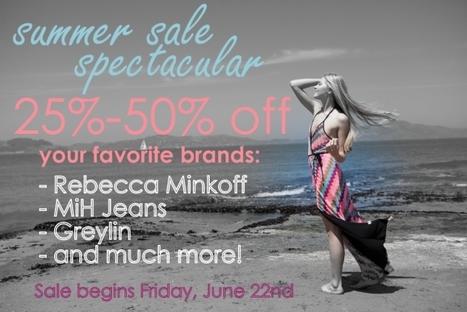 Sale | Chloe Rose, 6/22 | San Francisco | Around Town | Scoop.it