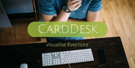 CardDesk organise visuellement Evernote - Les Outils Numériques   Evernote, gestion de l'information numérique   Scoop.it