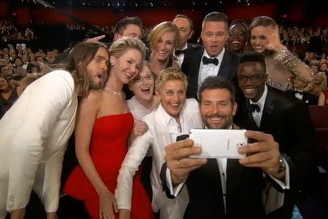 Ellen's preplanned Oscar selfie: a Samsung product placement | Digital Literacy in the Library | Scoop.it
