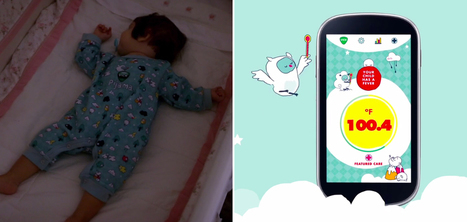 Un pyjama connecté qui analyse en temps réel la fièvre de votre enfant | e-santé,m-santé, santé 2.0, 3.0 | Scoop.it