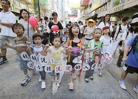 Hong Kong protests education plan, calls it Chinese propaganda | Globicate - Global Education for a New Generation | Scoop.it