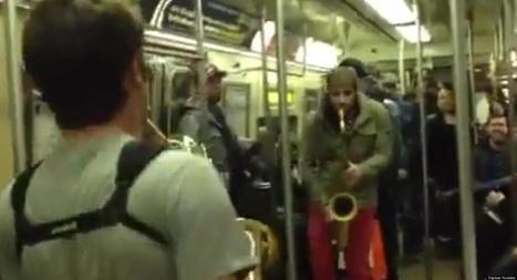 VIDÉOS. New York : deux hommes se lancent dans une battle de ... - Le Huffington Post | Rap , RNB , culture urbaine et buzz | Scoop.it