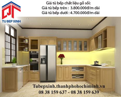 Tủ bếp gỗ sối nhà anh Lam - Quận 3 - tu-bep-go-soi-nha-anh-lam---q3 - tu van du hoc uy tin|du hoc gia re - | TỦ BẾP MFC - GIÁ TỦ BẾP MFC | Scoop.it