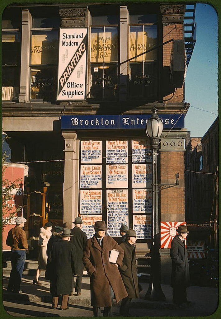 Captured: America in Color from 1939-1943 – Plog Photo Blog | Antiques & Vintage Collectibles | Scoop.it