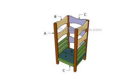 Learning Tower Plans | Free Outdoor Plans - DIY Shed, Wooden Playhouse, Bbq, Woodworking Projects | Garden Plans | Scoop.it