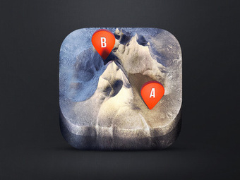 Examples of Realistic App Icons   Graphic Design   Scoop.it