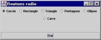 Exercice Java Swing: Boutons radio en nombre quelconque   Exercices Informatique   Scoop.it