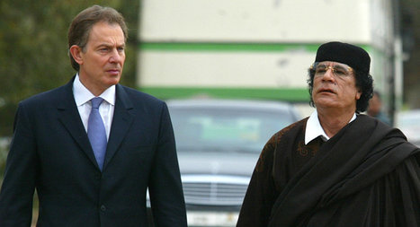 Blair to Gaddafi: I Just Called to Say... 'Find a Safe Place' | Saif al Islam | Scoop.it
